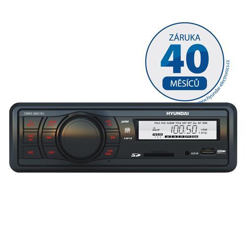Autorádio Hyundai CMRX 4802 SU, MP3/USB/SD/MMC/AUX-IN + doprava zdarma