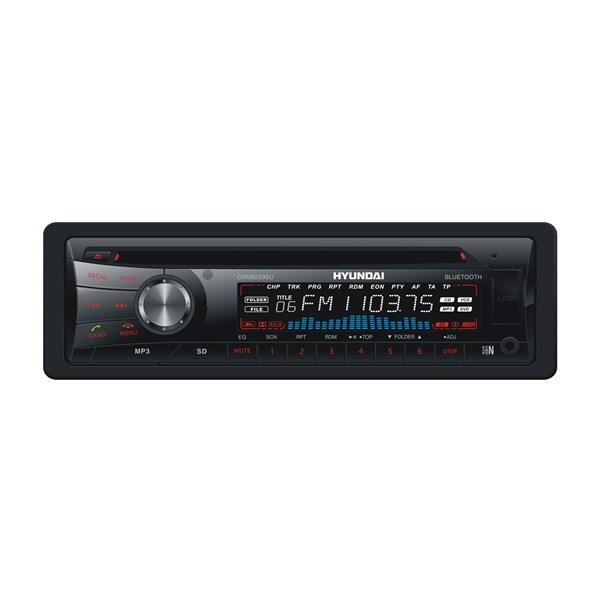 Autorádio Hyundai CRMB 229 SU, CD/MP3/USB/SD/MMC/AUX-IN/BLUETOOTH, černá barva + doprava zdarma
