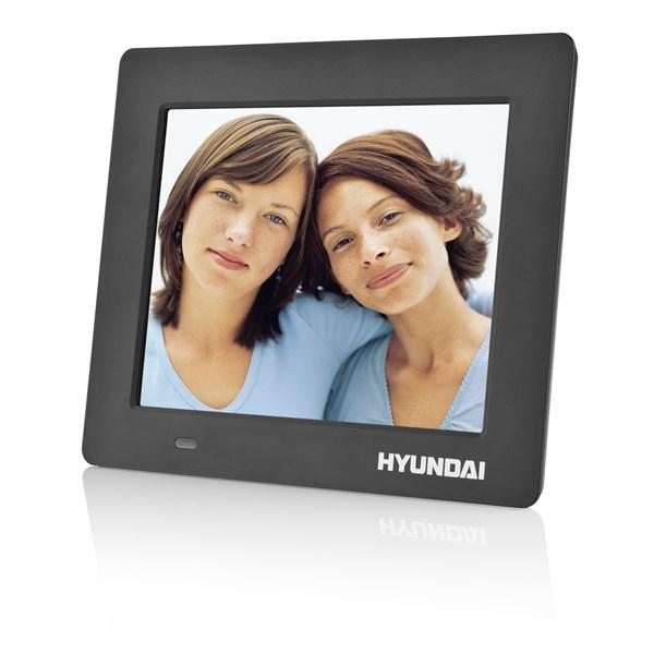Fotorámeček digitální Hyundai LF 720 MULTI, LED, SD/SDHC, USB, SLIM, černý
