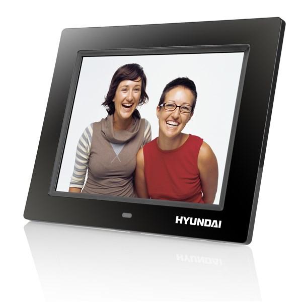 Fotorámeček digitální Hyundai LF 817 MULTI, LCD, SD/SDHC, USB, černý + doprava zdarma