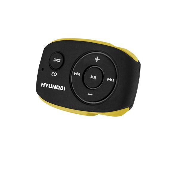 Přehrávač MP3 Hyundai MP 312, 4GB, černo/žlutá barva + doprava zdarma