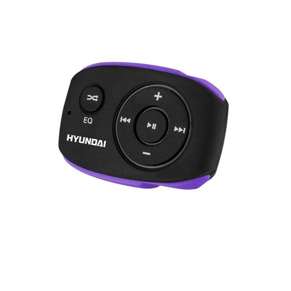 Přehrávač MP3 Hyundai MP 312, 8GB, černo/fialová barva + doprava zdarma
