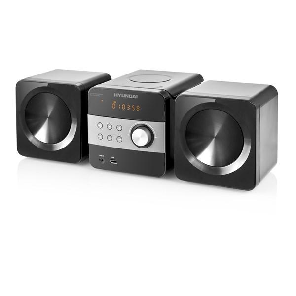 Mikrosystém Hyundai MS 132 DU3BL, CD, MP3, USB, LINE IN, BLUETOOTH, dálkové ovládání + doprava zdarma