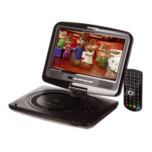 DVD přehrávač Hyundai PDP 913 UHDVBT, přenosný, HD DVBT, USB + doprava zdarma