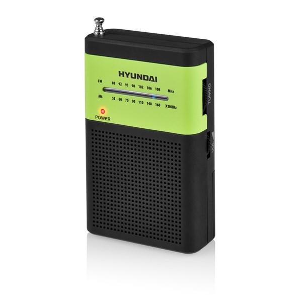 Radiopřijímač Hyundai PPR 310 BG, černý/zelený