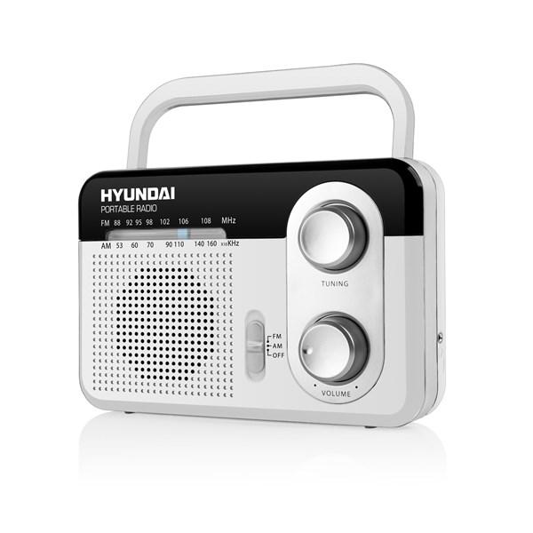 Radiopřijímač Hyundai PR 411 W, bílý