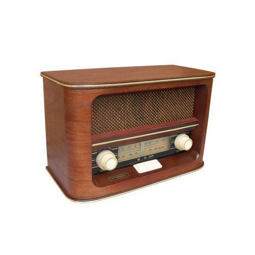 Radiopřijímač Hyundai RA 601 RETRO, třešeň + doprava zdarma