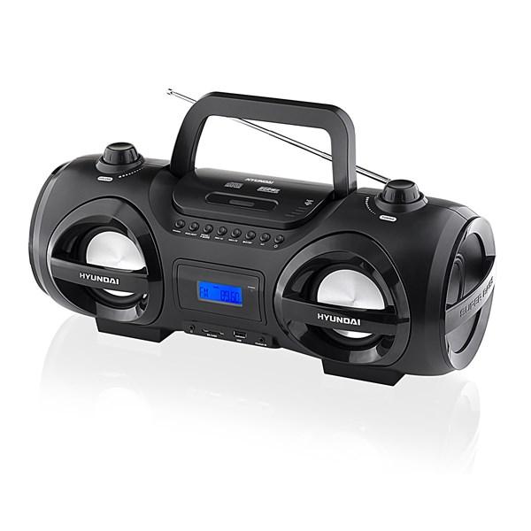 Radiopřijímač Hyundai TRC 191 DRSU3, CD/MP3/USB/SD, černý + doprava zdarma