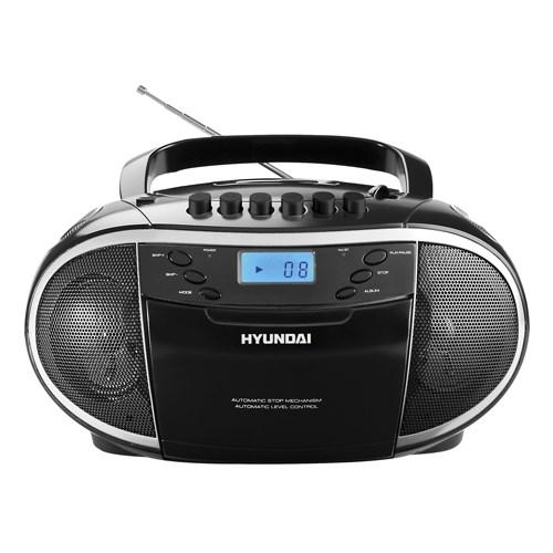 Radiomagnetofon Hyundai TRC 851 AU3 s CD/MP3/USB + doprava zdarma