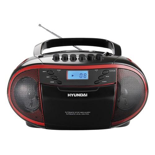 Radiomagnetofon Hyundai TRC 851 AU3R s CD/MP3/USB + doprava zdarma