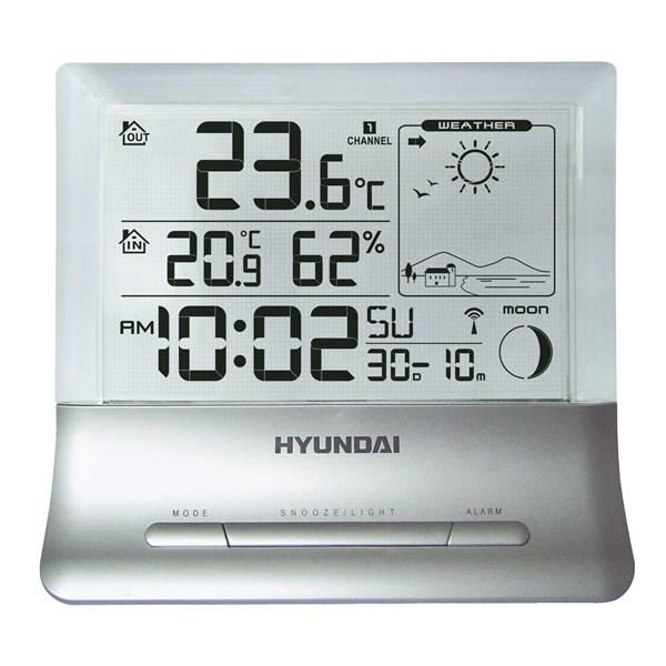 Meteostanice Hyundai WS 2266, průhledný displej + doprava zdarma