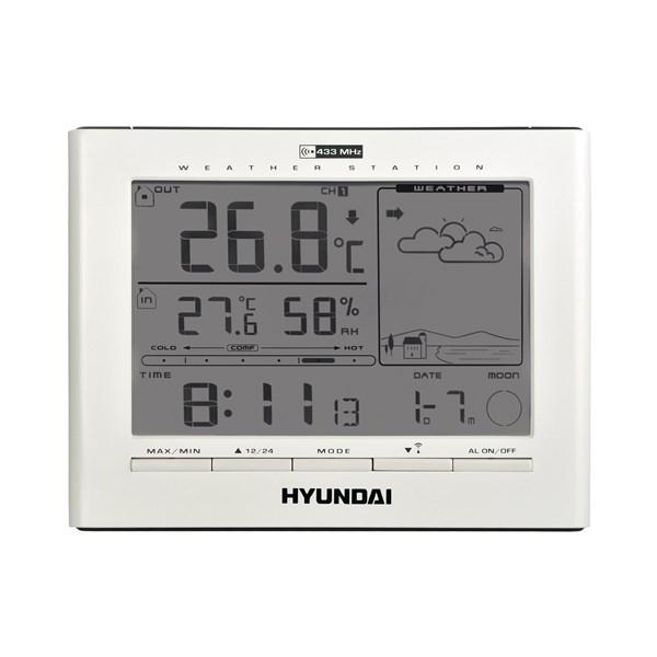 Meteostanice Hyundai WSC 2180, bílá + doprava zdarma