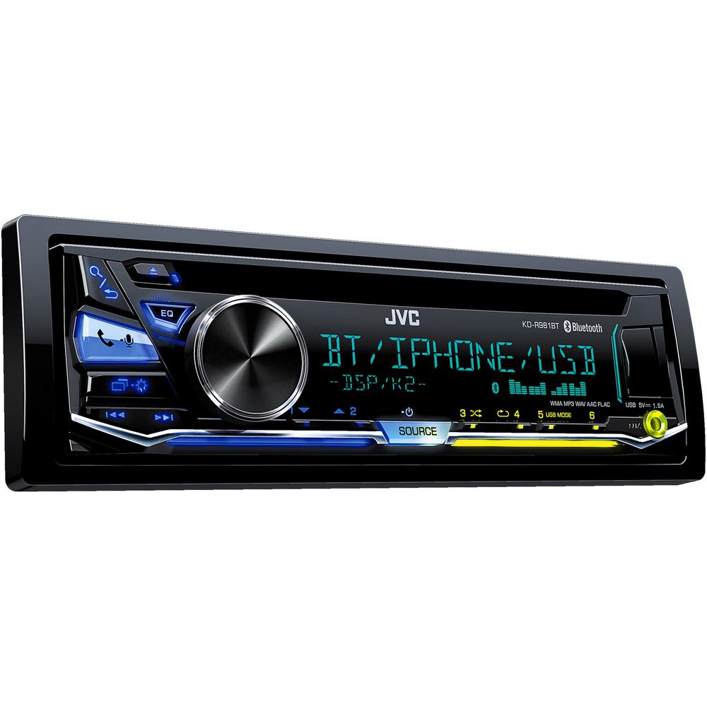 JVC KD-R981BT AUTORÁDIO S CD/MP3/BT + doprava zdarma