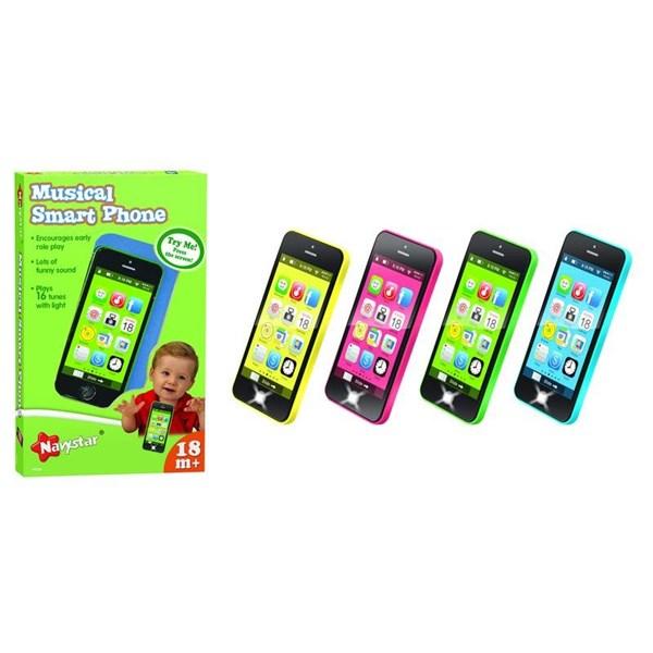 Telefon Alltoys pro nejmenší černo barevný + doprava zdarma