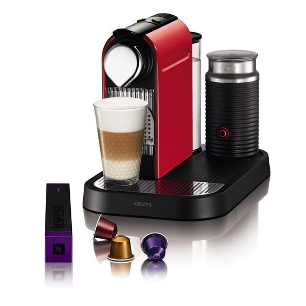 Nespresso CITIZ & MILK RED + doprava zdarma