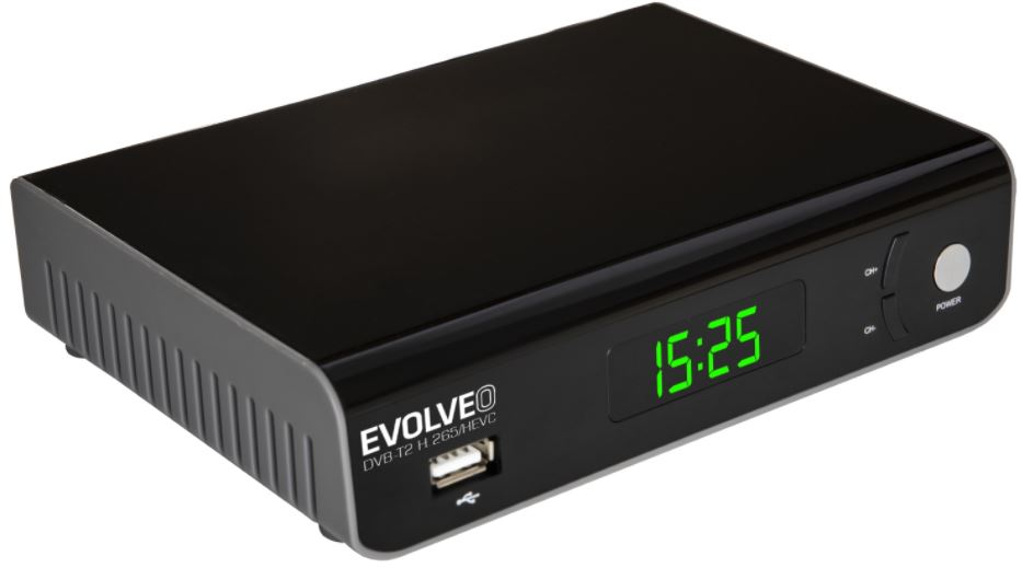 EVOLVEO Omega II WiFi HD DVB-T2 H.265/HEVC rekordér