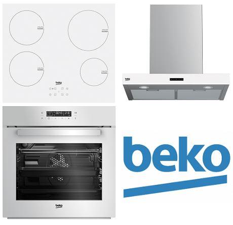 Set BEKO BIR14400WGCS + HII64400ATW + HCB62741BWH + 5 LET záruka na troubu