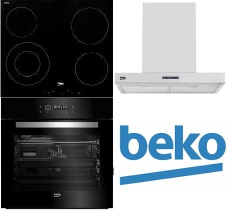 Set BEKO BIR14400BGCS + HIC64401 + HCB61731BX