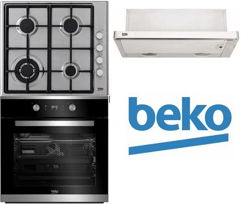 Set BEKO BIM25302X + HIZG64121SX + CTB6407X