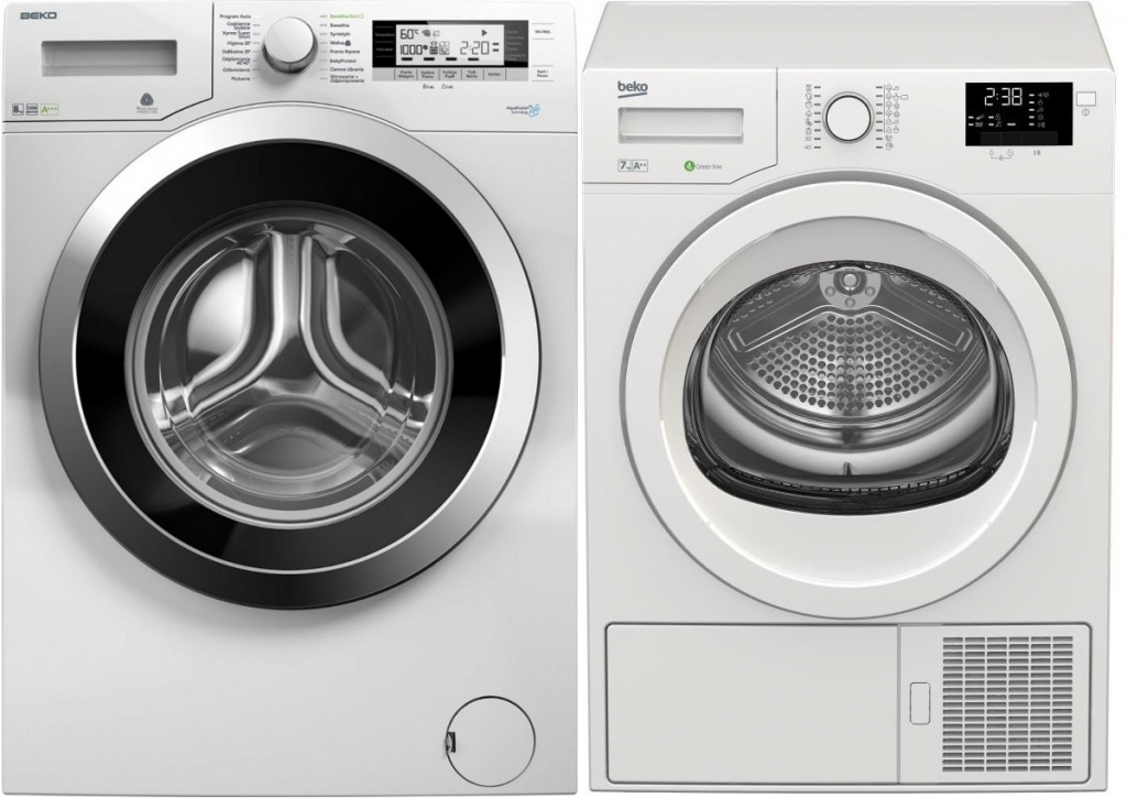 BEKO Set WMY81243CSPTLMB1 + 5 let záruka + DPS7405GB5