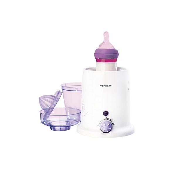 Ohřívač kojeneckých lahví Topcom 301 - 3v1 - bílá/fialová + doprava zdarma