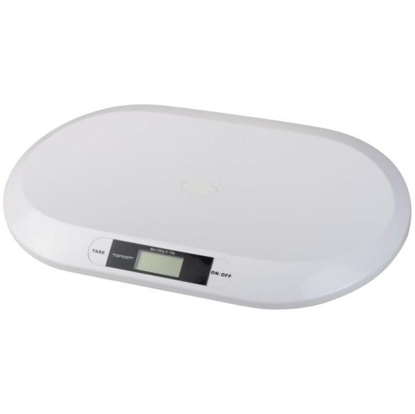 Kojenecká váha TOPCOM Digital BabyScale 2000, s rozlišením 10g + doprava zdarma