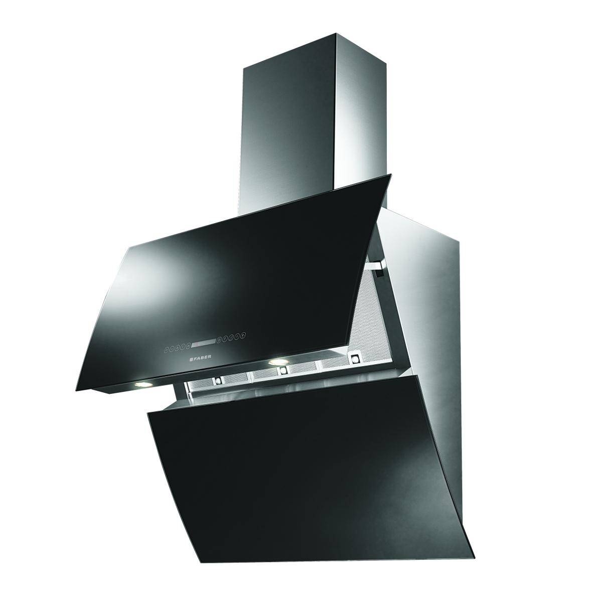 FABER Mirror BRS X/V BK A80 Logic + ZÁRUKA 5 LET ZDARMA + doprava zdarma