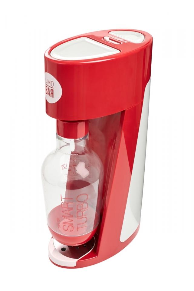 LIMO BAR výrobník sody Elixir - turbo červený